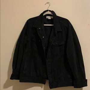 H&M Large Men's Black Jean Jacket